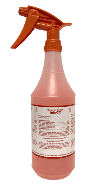 hdq C2 Disinfectant Cleaner - 32oz