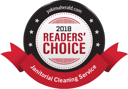 Yakima Herald-Repulic 2018 Reader's Choice Award for best janitorial cleaning service